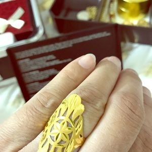 Ring 21k solid gold